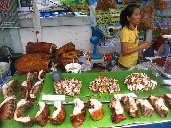 Assortment of Pork Belly